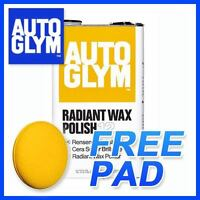 AUTOGLYM Radiant Super Resin Wax Polish 5 Litre +GIFT