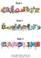 PERSONALISED NAMED  BOOKMARKS x1