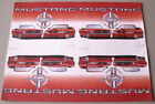 1999 FORD MUSTANG GT DEALER POSTCARDS 35TH ANNIVERSARY