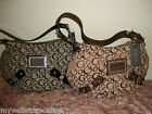 "NWT Guess Taluca ""G"" Print Los Angeles Hobo Handbag"