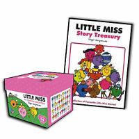 Little Miss Complete Collection 34 Books Box Gift Set Plus Free Story Treasury