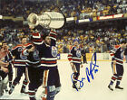 Bill Ranford Hand Signed 8x10 Photo Oilers Bruins Caps Lightning Wings NHL