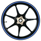 Sky Blue 12 to 15 inch Motorcycle, Scooter, Car Wheel Rim Stripes 8mm wide