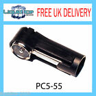 PC5-55 DIN AERIAL TO ISO AERIAL STEREO RADIO EXTENSION ADAPTOR MAST ANTENNA