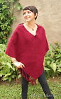 GUATEMALAN WOMENS COTTON PONCHO HAND MADE guatemala jacket WCP 010