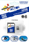 32gb ACTION High Speed Class 10 SDHC Card 32 GIG SD-HC MICRO FAST VIDEO CAPTURE