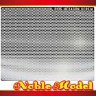 Detail Up Metal Decal For RG MG HG Gundam Model Kit - Silver Metal 75mm x 94mm