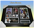 CHRIS BROWN SIGNED MEMORABILIA LIMITED EDITION 499 COA FRAMED READY TO HANG