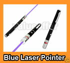 New Powerful Violet Purple Blue Ray Laser Light Pointer Pen Beam 5mW 405nm