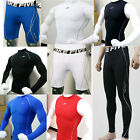 Mens Compression Under Thermal Base Layers Tops T-Shirts Tights Pants Gear Wear