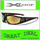 Men's Designer X Loop Sunglasses XL40405 UV400 Davis E5
