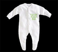 BabyGrow Boy/Girl/Unisex -If You Think im Cute You Should See My Uncle