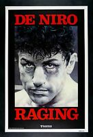 RAGING BULL * CineMasterpieces ROLLED ADVANCE BOXING FIGHT MOVIE POSTER NM C9