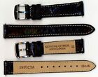 Invicta Genuine Womens 16mm Black Ostrich Leather Watch Strap IS445 NEW