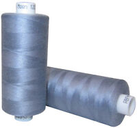 5 x Grey Moon Sewing Thread Cottons 120s *1000yards Each Spool*