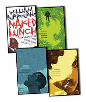 William Burroughs 4 Books Collection Pack  Set Naked Lunch, The Soft Machine New