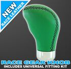 HONDA CIVIC TYPE R S GREEN LEATHER CAR GEAR KNOB