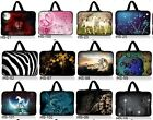 """Many Designs 16"""" 17"""" 17.3"""" Neoprene Laptop Bag Carry Sleeve Case Cover W/ Handle"""