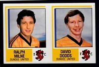PANINI FOOTBALL 85-#481-A-B-DUNDEE UNITED-RALPH MILNE/DAVID DODDS