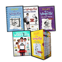 Diary of a Wimpy Kid 9 Books DVD Collection Pack Set Jeff Kinney Cabin Fever New