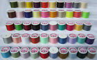 50 High Quality Multipurpose Spun Polyester Sewing Thread Reels *Made in England