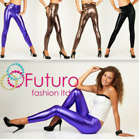 Sexy Shiny Wet Look HIGH WAIST Full Ankle Length Leggings, All Sizes! **HQ**