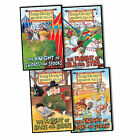 Terry Deary Knights Tales 4 Children Books Collection Pack Set New