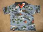 Boys TOMMY HILFIGER Vacation Themed, 100% Cotton, S/S Polo Shirt, Sz. 4