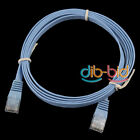 New 5FT 1.5M CAT6 CAT 6 Flat UTP Ethernet Network Cable RJ45 Patch LAN Cord SS