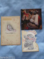 MUM CHRISTMAS CARD MAM MUMMY ME TO YOU TATTY TEDDY CARTE BLANCHE MERRY XMAS CARD