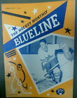"""(#141) Jim Thomson on the cover of """"BLUELINE"""" Monthly Magazine Feb. 1955"""