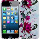 eRFlr Apple iPhone 5 5G 6th Gen Snap-on Phone Cover Hard Case glossy Skin