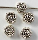 Wholesale 100Pcs Tibetan Silver Flower Spacer Beads LOOSE bead A016