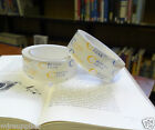 CRYSTAL CLEAR POLYPROPYLENE BOOK REPAIR TAPE 38mm x 65m roll