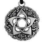 Pentacle of the Goddess jewelry pentagram Wiccan pendant Pagan Necklace