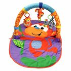 Infantino Merry Monkey Travel Baby Activity Gym Play Mat New NIB