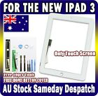 White Apple iPad 3 Digitizer Glass Touch Screen The new iPad panel Replacement