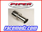 FOCUS RS 2.5 Piper Exhaust Stainless Steel Cat Back Duplex System DFOC7BS-I
