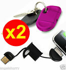 Keyring USB Data Sync Cable Charger for Apple iPhone 4S 4 3GS iPad 4 3 2 1 iPod
