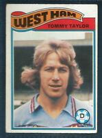 TOPPS 1978 FOOTBALLERS #046-WEST HAM UNITED-ORIENT-TOMMY TAYLOR