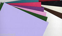 50 x A4 SHEETS 240GSM CARD STOCK FREE POSTAGE **U CHOOSE COLOUR**