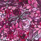 1/4 yd Patchwork Quilting Fabric Freedom Art Deco Twilight Garden F850-1 fq