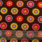 1/4 yard Patchwork Quilting Fabric Michael Miller Brown Bloomies DC 4321 fq