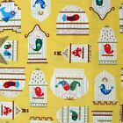1/4 yard Patchwork Quilting Fabric Timeless Treasures Bird Cage C8796 fq