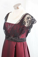 28 Edwardian Titanic evening dress Handmade in UK lace embroidered Rose dress