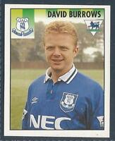 MERLIN 1995-PREMIER LEAGUE 95- #155-EVERTON-WEST HAM-LIVERPOOL-WBA-DAVID BURROWS