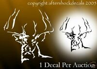 Deer hunting decal truck sticker