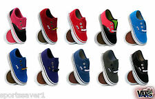 Vans Authentic Kids/Toddlers/Infants Trainers Sizes Uk 4-9.5
