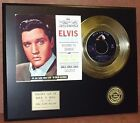 Elvis Presley Return To Sender - 24k Gold Record Limited Edition USA Ships Free