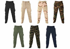 PROPPER MILITARY TACTICAL BDU PANTS 100% COTTON RIPSTOP BUTTON FLY CLOSURE-F5201